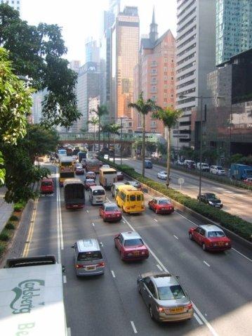 No one in Hong Kong drives because everyone in Hong Kong drives