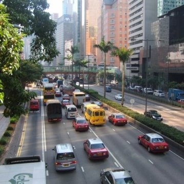 No one in Hong Kong drives because everyone in Hong Kong drives