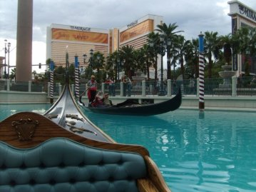 Gondola ride on the outside