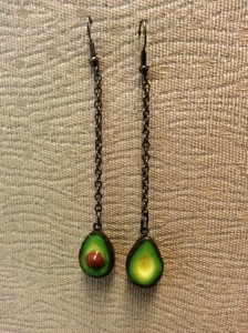 Avocado Earrings 01