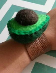 Avocado Wristband 01