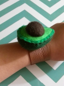 Avocado Wristband 04